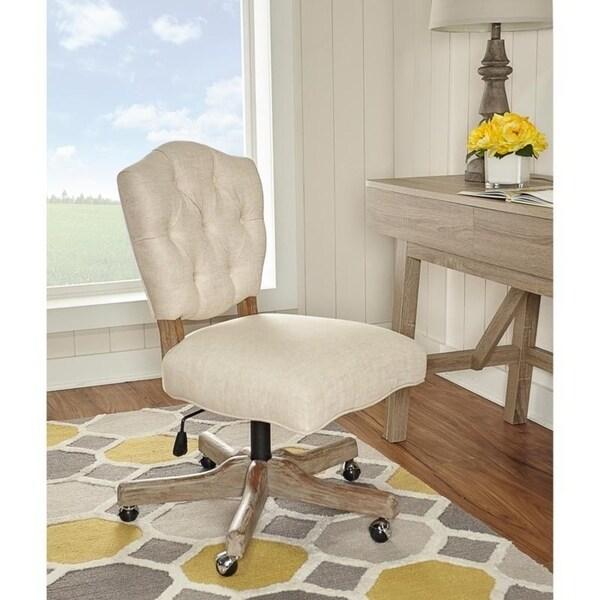 Hazel Natural Office Chair