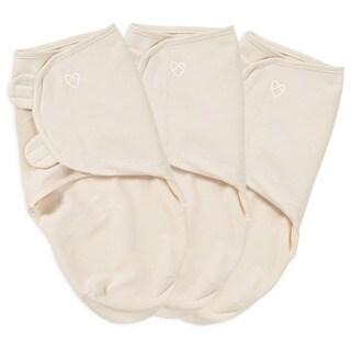 Summer Infant SwaddleMe Ivory Organic Cotton (Pack of 3)