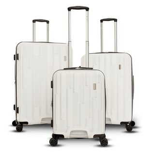 Gabbinao Avila Collection 3-Piece Hardside Upright Spinner Set