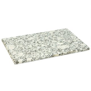 "Sweet Home Collection Granite Cutting Board (8""x12"") White"