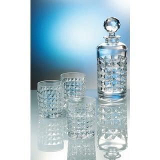 Red Vanilla Diamond Crystal Whiskey Set