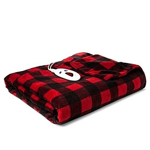 3a01048f58 Shop Biddeford 4462-9062119-316 Microplush Heated Throw Blanket Buffalo  Check Plaid - Free Shipping Today - Overstock - 17833503