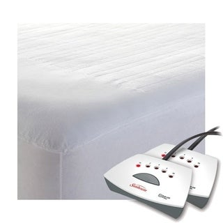 Sunbeam Non-Woven Thermofine Heated Electric Mattress Pad - Queen Size