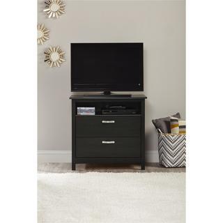 Ameriwood Home River Layne 2 Drawer Media Dresser