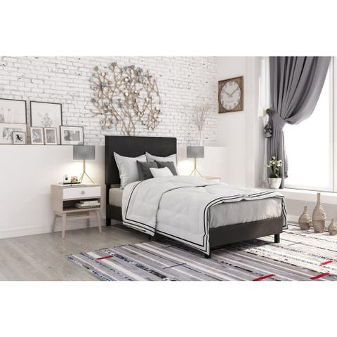 Taylor & Olive Halls Contemporary Upholstered Bed