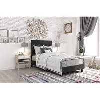Clay Alder Home Manes Contemporary Upholstered Bed