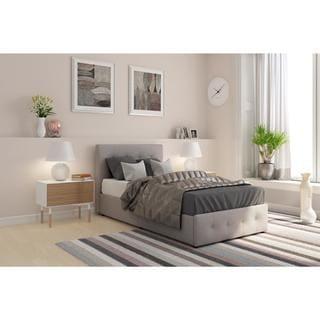 Taylor & Olive Haven Upholstered Storage Bed