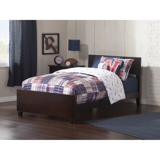 Orlando Twin Bed with Matching Foot Board in Espresso