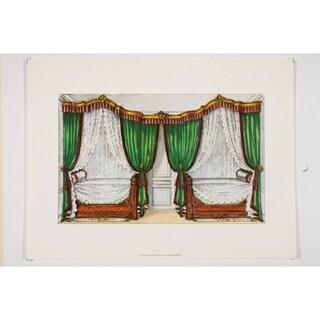 19th Century Interior Designs Le Garde-Meuble IV Premium Art Print