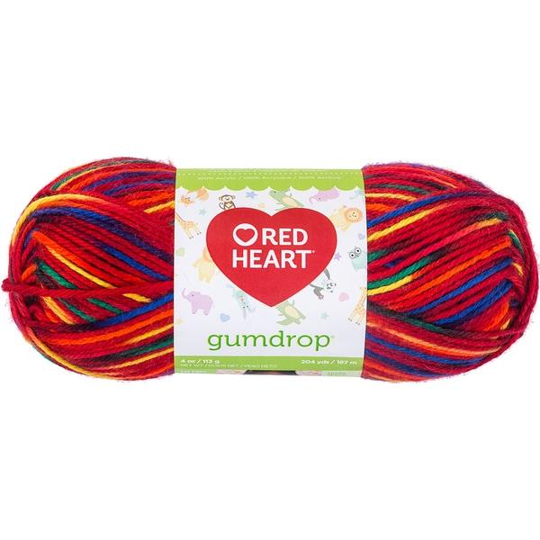 Red Heart Gumdrop Yarn-Popsicle