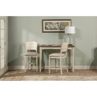Hillsdale Furniture Clarion Three Piece Counter Height Side Dining Set