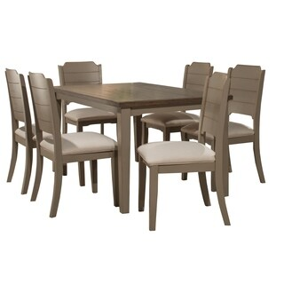 Havenside Home Santa Barbra 7-piece Rectangle Dining Set, Gray
