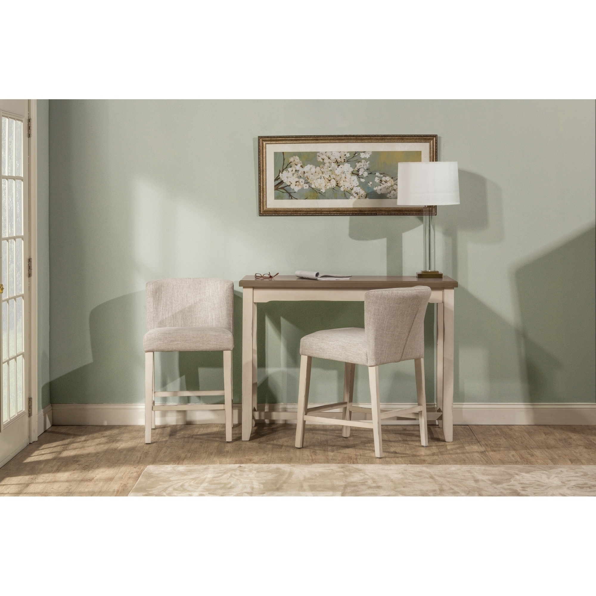 The Gray Barn Steeplechase 3-piece Counter Height Side Dining Set