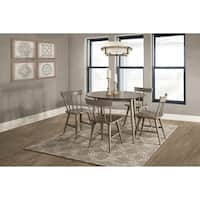 Hillsdale Furniture Mayson Five Piece Dining Set, Gray