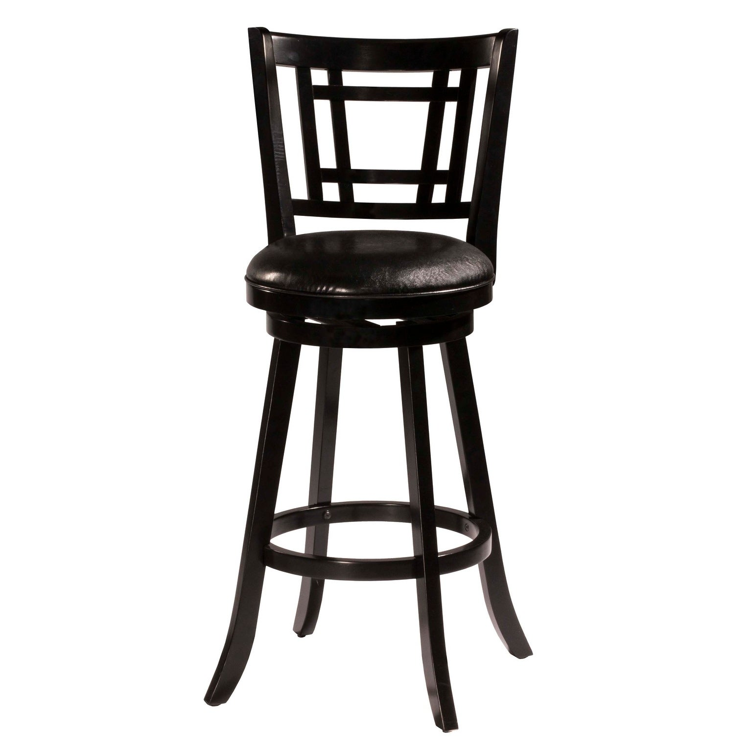 Ebay Bar Furniture: Hillsdale Furniture Fairfox Swivel Bar Stool, Black, 30