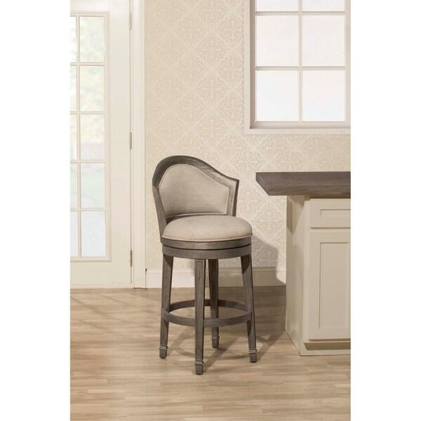 Shop Hillsdale Furniture Monae Swivel Counter Stool Dark