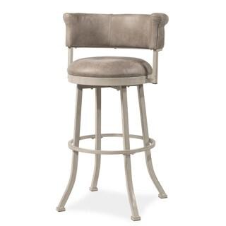 Hillsdale Furniture Westport Swivel Counter Stool, Ivory