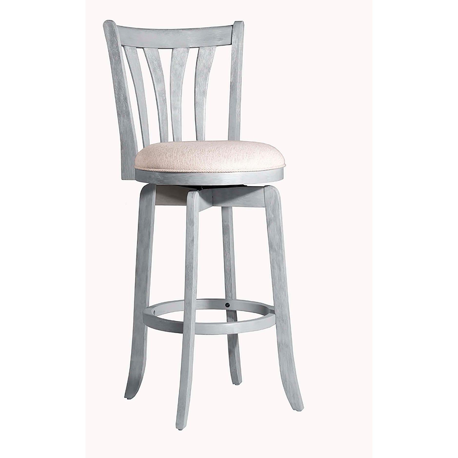 Miraculous Hillsdale Furniture Savana Swivel Counter Stool Blue 25 75 Creativecarmelina Interior Chair Design Creativecarmelinacom