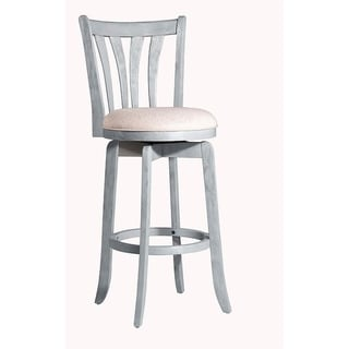 "Hillsdale Furniture Savana Swivel Counter Stool, Blue, 25.75"""