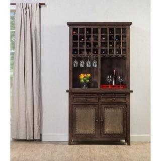 Hillsdale Furniture Tuscan Retreat ® Buffet and Hutch, Mocha