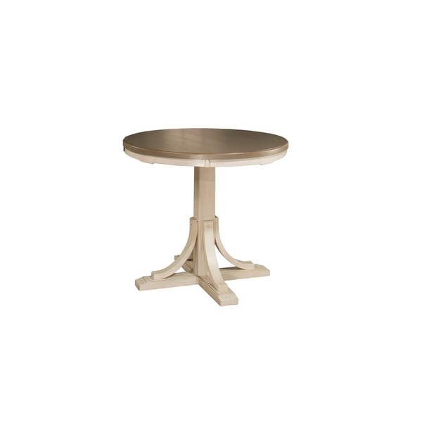 Illinois Modern Two Tone Large Round Dining Table With 8: Hillsdale Furniture Clarion Round Counter Height Dining