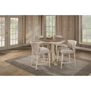 Havenside Home Santa Barbra 5-piece Round Counter Height Dining Set