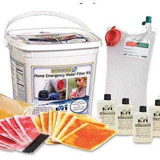 Emergency Water Filter System Kit