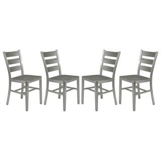 LeisureMod Delmar Modern Aluminum Dining Chair (Set of 4)