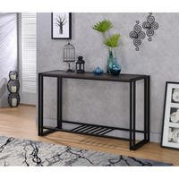 Harper Blvd Juniper Industrial Console Table Free