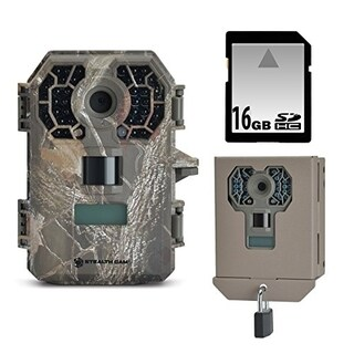 Stealth Cam G42NG No-Glo Trail Game Camera Bundle with Security Box and 16GB SD Card
