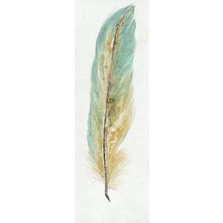 Feather Collection-I Oil Painting Wall Decor