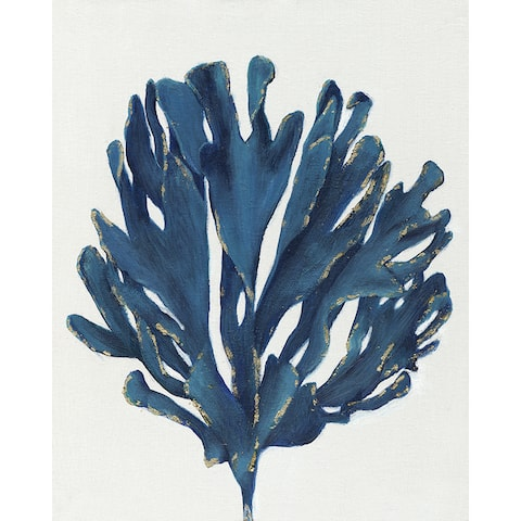16 X 20 Blue Tree Oil Paint Wall Decor