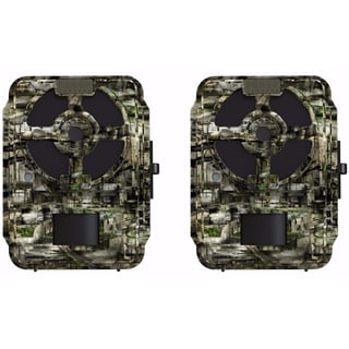 Primos 12MP Proof Cam 03 HD Trail Camera with No Glow LEDs, Camo (63056) 2-Pack