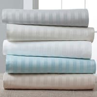 Luxury Estate 1220 TC Woven Stripe Sheet Set