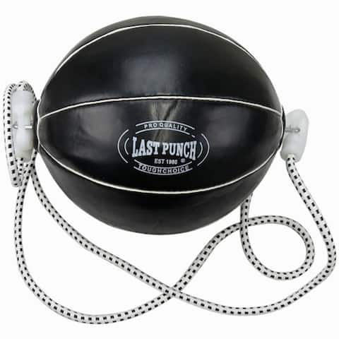 Last Punch Pro Sports Boxing Training Punching Black Double-End Speed Ball