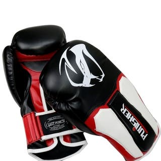LastPunch 12oz Adult Size Black and White Viper Detailed Boxing Gloves|https://ak1.ostkcdn.com/images/products/17835021/P24025132.jpg?impolicy=medium