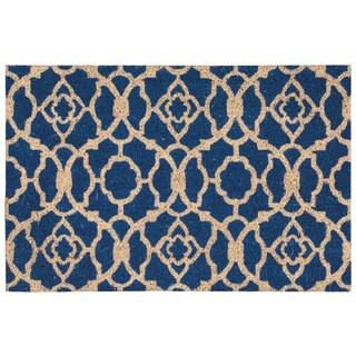 Waverly Greetings Lovely Lattice Ocean Doormat by Nourison - 2' x 3'