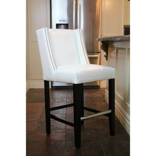 HD Couture Tina White Leather Counterstool https://ak1.ostkcdn.com/images/products/17836355/P24026293.jpg?impolicy=medium