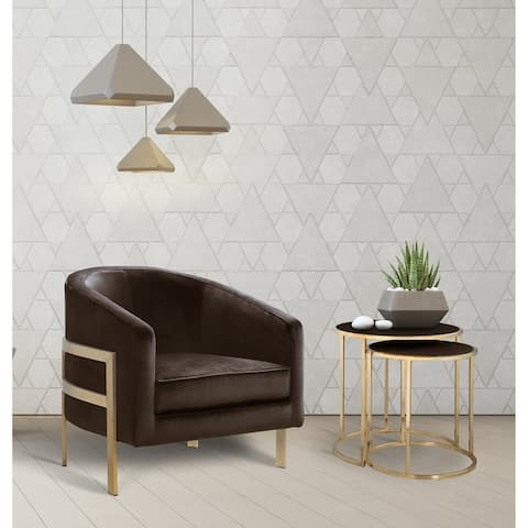 Chic Home Artemis Velvet Modern Contemporary Club Chair