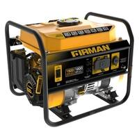Firman P01202 Portable Generator With 12V Plug, Black/Yellow, 54 Lb