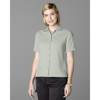Twin Hill Womens Shirt Celery Recycled Poly