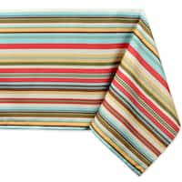 Stripe Umbrella Tablecloth - 60 x 84""