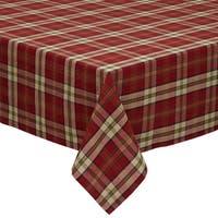 "Campfire Plaid Tablecloth - 52 X 52"""