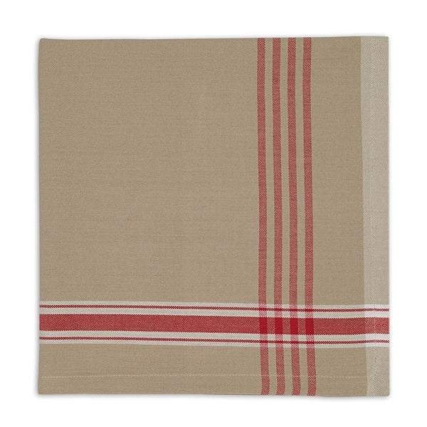 Joyeux Noel Plaid Napkin Set of 6