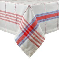 Coopeville Plaid Tablecloth - 52 X 52""