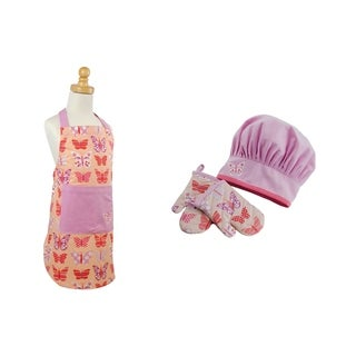 Butterfly Princess Children's Apron and Chef Gift Set