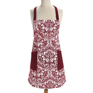 Damask Wine Apron