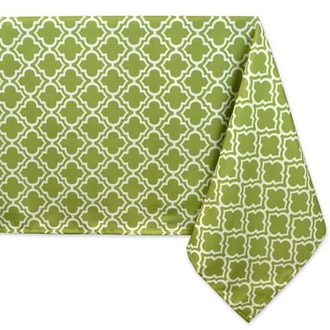 """Lattice Umbrella Tablecloth - 60 x 84"""""""