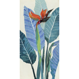 24 X 48 Color Leaf-II Oil Painting Wall Decor