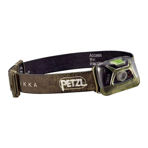 Petzl TIKKA 200 Lumens Headlamp Green